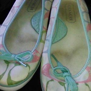 Coach skimmer shoe